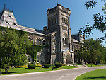 University College Building of the University of Toronto. Ontario, Canada.