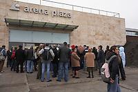 Tesco Arena opening