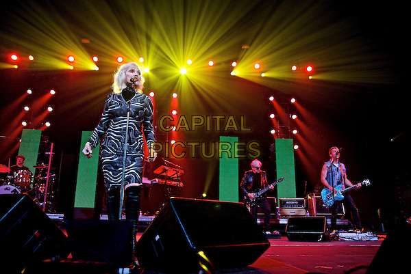 NEW YORK, NY - FEBRUARY 5: Debbie Harry on stage during the Amnesty International: Bringing Home Human Rights Concert at the Barclay's Center on February 5, 2014  in New York City, NY., USA.<br /> CAP/MPI/RA<br /> &copy;Robert Altman/MediaPunch/Capital Pictures
