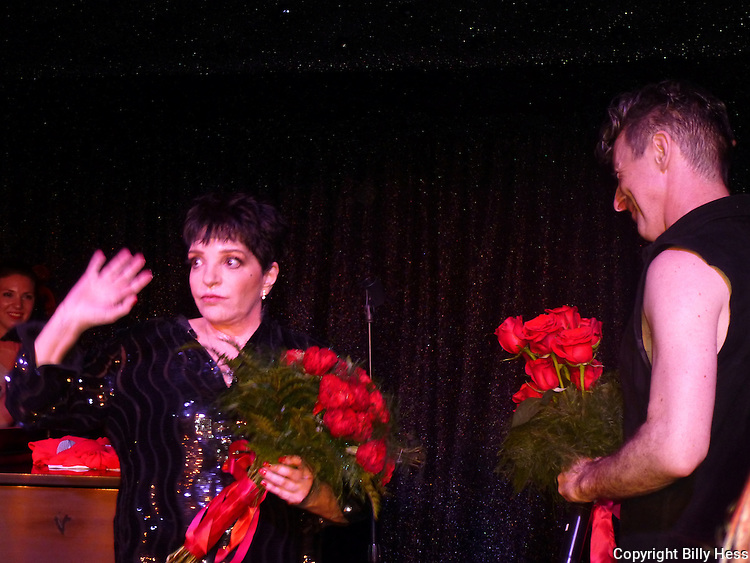 Liza Minnelli and Alan Cumming in Cherry Grove NY