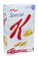 Box of Kellog's Special K Breakfast Cereal - Jan 2013.