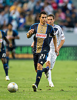 CARSON, CA - July 4, 2012: Philadelphia Union midfielder Michael Farfan (21) during the LA Galaxy vs Philadelphia Union match at the Home Depot Center in Carson, California. Final score LA Galaxy 1, Philadelphia Union 2.