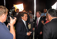 WASHINGTON, DC-JULY 10,2012:  Erick Thohir new investor during a D.C. United ownership press conference at the POV Lounge in the W Hotel, Washington, DC.