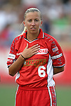 2 August 2003: Jenny Benson The Philadelphia Charge defeated the Atlanta Beat 3-0 at Villanova Stadium in Villanova, PA in a regular season WUSA game.