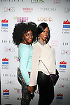 """Marie Theodore aka MarieDriven PR and Tashera Simmons Attend Wendy Williams celebrates the launch of her new book """"Ask Wendy"""" by HarperCollins and her new Broadway role as Matron """"Mama"""" Morton in Chicago - Held at Pink Elephant, NY"""