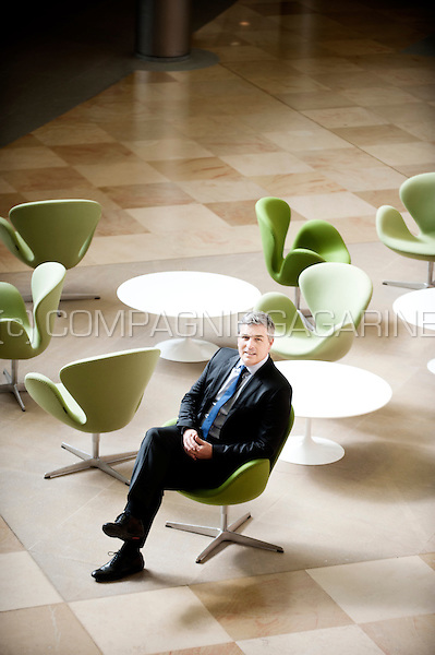 Fabrice Enderlin, Executive Vice President and Chief Talent Officer at UCB (Belgium, 01/04/2016)