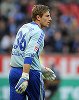FUSSBALL   1. BUNDESLIGA   SAISON 2011/2012    10. SPIELTAG Bayer 04 Leverkusen - FC Schalke 04                        23.10.2011 Torwart Lars UNNERSTALL (FC Schalke 04)
