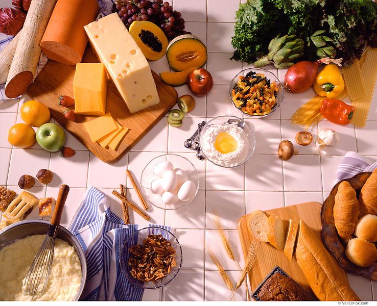 Kitchen and Ingrediants