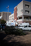 Scenes from Tucson, Arizona in the days following a mass shooting that left six dead and [number] injured.  The shooter, identified as Jared Loughner, was captured at the scene and charged in federal court on January 9th, 2011.  Among the injured was democratic congresswoman Gabrielle Giffords.  The dead included a federal judge, a nine year-old girl, and several septaugenarians who had all come to see the congresswoman at one of her 'Congress on the Corner' events.