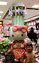 May 22, 2011, Tokyo, Japan - Hello Kitty shop inside of the Tokyo Sky Tree town. Tokyo Skytree, the world's tallest self-standing telecommunications tower with a height of 634 meters, opens today. This new Japanese landmark is expected to attract approximately 200,000 visitors on this first official opening day to the general public. (Photo by Yumeto Yamazaki/Nippon News)