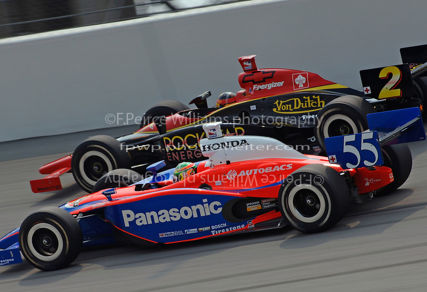 11 September, 2005, Joliet,IL,USA<br /> Kosuke Matsuura (55) and Tomas Enge.<br /> Copyright&copy;F.Peirce Williams 2005