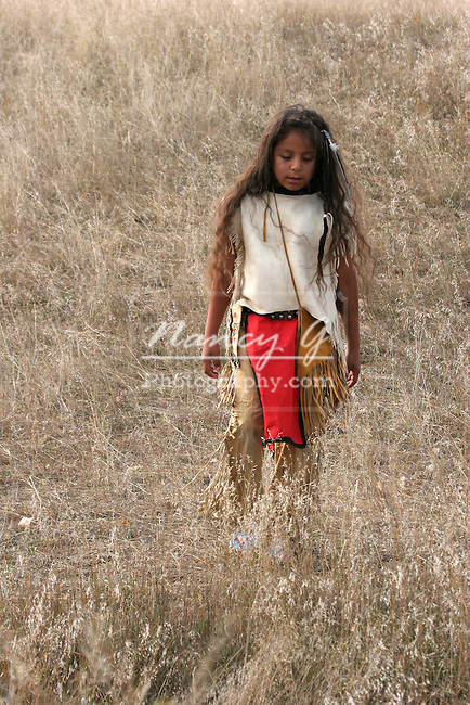 Young Native American Indian Boy