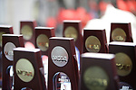 INDIANAPOLIS, IN - MARCH 18: NCAA tropheys during the Division I Women's Swimming & Diving Championships held at the Indiana University Natatorium on March 18, 2017 in Indianapolis, Indiana. (Photo by A.J. Mast/NCAA Photos via Getty Images)