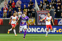 Harrison, NJ - Wednesday Aug. 03, 2016: Manfred Russell during a CONCACAF Champions League match between the New York Red Bulls and Antigua at Red Bull Arena.