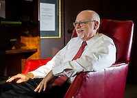 NWA Democrat-Gazette/JASON IVESTER<br /> Joseph Steinmetz, chancellor of the University of Arkansas; photographed on Friday, Jan. 29, 2016, on the Fayetteville campus