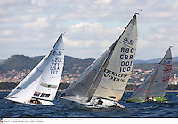 SAILING - OLYMPIC SERIES - SEMAINE OLYMPIQUE FRANCAISE ( SOF ) - HYERES (FRA)  - 21-27/04/2012 - PHOTO  JEAN MARIE LIOT / DPPI - LE 21/04/2012.