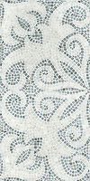 Arabella shown in Bardiglio and Paperwhite tumbled.