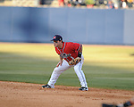Ole Miss second baseman Zach Miller  vs. Louisiana-Monroe at Oxford-University Stadium in Oxford, Miss. on Friday, February 19, 2010.