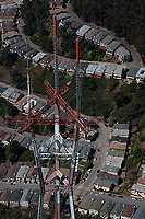 aerial photograph Sutro Tower San Francisco, California