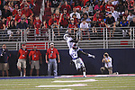 Southern Illinois wide receiver Cam Fuller (1) catches a touchdown pass over Ole Miss' Senquez Golson (21) at Vaught-Hemingway Stadium in Oxford, Miss. on Saturday, September 10, 2011. Ole Miss won 42-24.