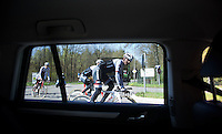 Fabian Cancellara (SUI/TREK-Segafredo) at the first pre-Giro training ride with Team Trek-Segafredo in Gelderland (The Netherlands)<br /> <br /> 99th Giro d'Italia 2016