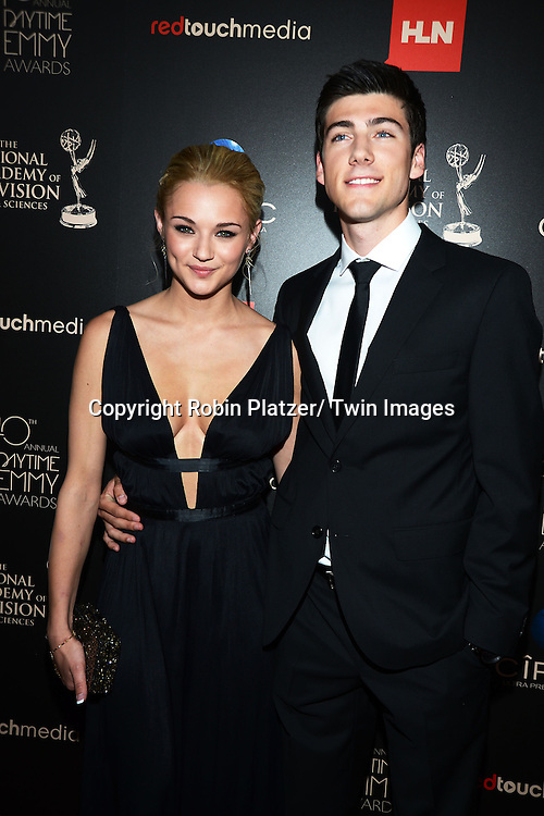 Hunter King attends The 40th Annual Daytime Emmy Awards on<br />  June 16, 2013 at the Beverly Hilton Hotel in Beverly Hills, California.