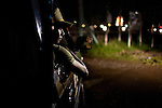Sharia Police, or the morality police, out on night patrol in Banda Aceh,  Indonesia, on Saturday, Nov. 21, 2009. Banda Aceh enforces a moderate form of Islamic Law.