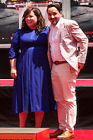 Melissa McCarthy, Ben Falcone<br /> at the Melissa McCarthy Hand and Foot Print Ceremony, TCL Chinese Theater, Hollywood, CA 07-02-14<br /> David Edwards/DailyCeleb.com 818-249-4998