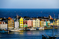 Handelskade, Punda section of Willemstad, Curacao, Netherlands Antilles