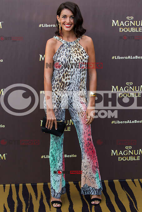 Noelia Lopez during the launch party for the new range of Magnum ice cream at  ME Hotel Reina Victoria. Jun 15,2016. (ALTERPHOTOS/Rodrigo Jimenez) /NortePhoto.com