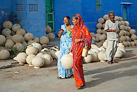 """Jodhpur also called the """"Blue City""""Rajasthan India"""