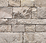 Ivory durango splitface tiles texture background. Exterior stone finish