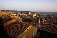 I tetti di Cortona<br /> The rooftops of Cortona