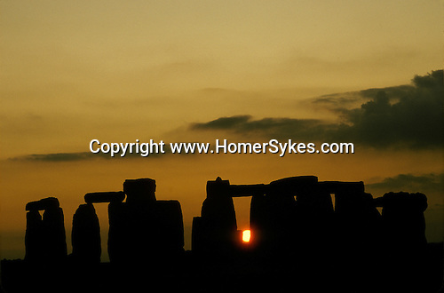 Stonehenge Wiltshire England. Mysterious Britain published by Orion