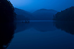 First light reflection on Lake Tugalo