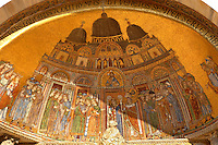 Translation Of The Body Of St Mark Mosaic - Basilica - Venice