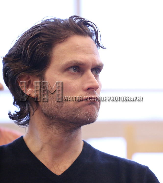 Steven Pasquale performs at the 'The Bridges of Madison County' Media Day at the New 42nd Street Studios on December 16, 2013 in New York City.