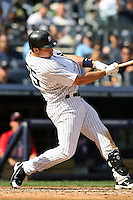 09/19/11 Bronx, NY: New York Yankees first baseman Mark Teixeira #25 during an MLB game played at Yankee Stadium between the Minnesota Twins and the New York Yankees. The Yankees defeated the Twins 6-4.