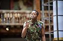 London, UK. 18.09.2013. THE LIGHTNING CHILD by Che Walker and Arthur Darvill. A Shakespeare's Globe production, directed by Matthew Dunster. With Clifford Samuel as Pentheus. Opens at Shakespeare's Globe Theatre on 14th September until 12th October. Photograph © Jane Hobson.