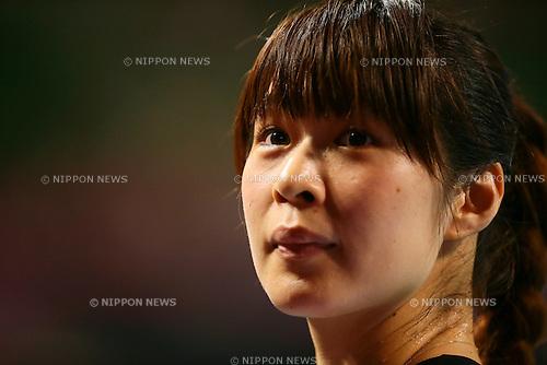 Saori Kimura (JPN), <br /> AUGUST 23, 2014 - Volleyball : <br /> FIVB World Grand Prix 2014 final round match <br /> between Japan 3-0 Belgium <br /> at  Ariake Coliseum, Tokyo, Japan. <br /> (Photo by AFLO SPORT) [1205]