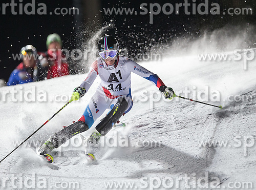 13.01.2015, Hermann Maier Weltcupstrecke, Flachau, AUT, FIS Weltcup Ski Alpin, Flachau, Slalom, Damen, 1. Lauf, im Bild Nadja Vogel (SUI) // Nadja Vogel of Switzerland in action during 1st run of the ladie's Slalom of the FIS Ski Alpine World Cup at the Hermann Maier Weltcupstrecke in Flachau, Austria on 2015/01/13. EXPA Pictures © 2015, PhotoCredit: EXPA/ JOHANN GRODER