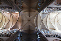 Transept, Amiens Cathedral, 13th century, Amiens, Somme, Picardie, France. Picture by Manuel Cohen