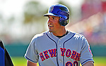 8 March 2009: New York Mets' infielder Ramon Martinez heads back to the dugout during a Spring Training game against the Washington Nationals at Space Coast Stadium in Viera, Florida. The Nationals defeated the Mets 8-3 in the Grapefruit League matchup. Mandatory Photo Credit: Ed Wolfstein Photo