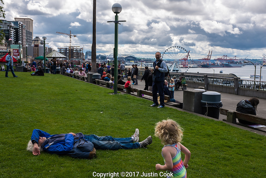 Scenes from Seattle, WA on Sunday, June 11, 2017. (Justin Cook)
