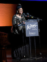 New York City, NY. October 20, 2014. Virginia Johnson prsents the 2014 Lifetime Achievement Award during The 30th anniversary of The Bessies, the New York Dance and Performance Awards. Photo by Marco Aurelio/VIEWpress