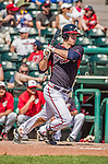 21 March 2015: Atlanta Braves outfielder Todd Cunningham in action during a Split Squad Spring Training game against the Washington Nationals at Champion Stadium at the ESPN Wide World of Sports Complex in Kissimmee, Florida. The Braves defeated the Nationals 5-2 in Grapefruit League play. Mandatory Credit: Ed Wolfstein Photo *** RAW (NEF) Image File Available ***