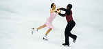 TAIPEI, TAIWAN - JANUARY 22:  Kharis Ralph and Asher Hill of Canada compete in the Ice Dance Short Dance event during the Four Continents Figure Skating Championships on January 22, 2014 in Taipei, Taiwan.  Photo by Victor Fraile / Power Sport Images *** Local Caption *** Kharis Ralph; Asher Hill