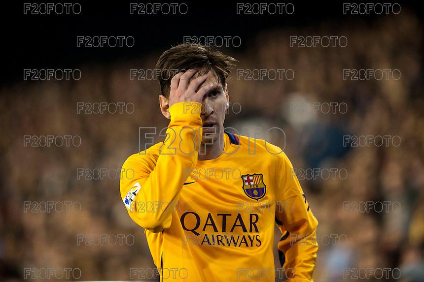 Valencia 1-1 Barcelona (5-12-2015)
