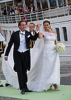 Princess Madeleine & Christopher O'Neill Royal Wedding, Stockholm - Sweden