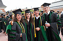 Jennifer Covino, from left, Emily Crook, Mark Damman, Matthew Davies. Commencement, class of 2013.